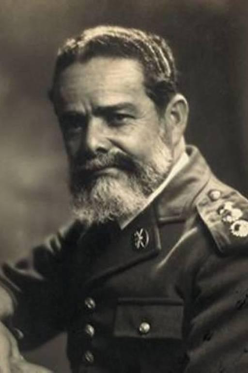 Guilherme Paraense, campeão olímpico de tiro esportivo, em 1920, nos Jogos da Antuérpia