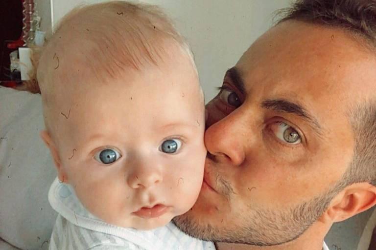Thammy Miranda com o filho, Bento Ferreira Miranda