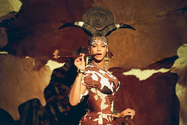 Cena de 'Black Is King', novo álbum visual de Beyoncé