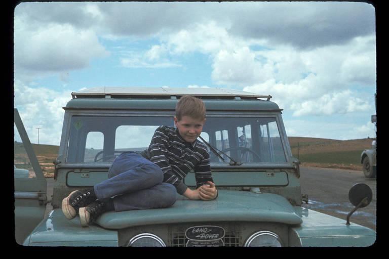 Tim Bray na zona rural do Líbano, onde seu pai era professor