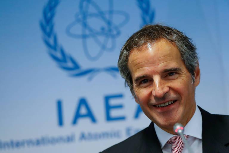 Rafael Mariano Grossi, 59, é diretor da Agência Internacional de Energia Atômica