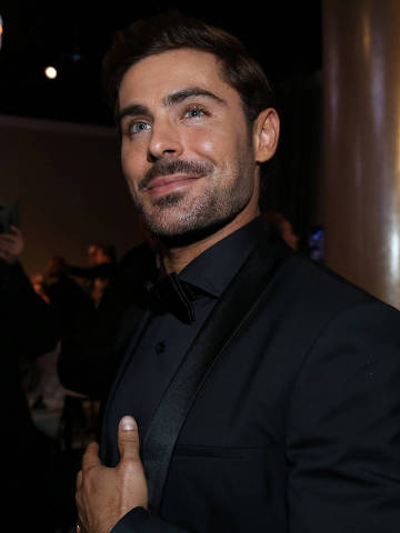 FILE PHOTO: 75thGolden Globe Awards ? Arrivals ? Beverly Hills, California, U.S.,07/01/2018? Zac Efron. REUTERS/Lucy Nicholson/File Photo ORG XMIT: FW1