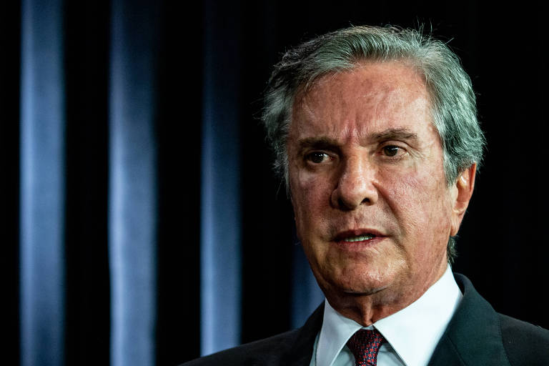 O senador Fernando Collor (PROS-AL), ex-presidente da República (1990-1992)