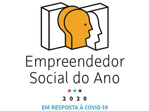 Logo Empreendedor Social do Ano Covid-19