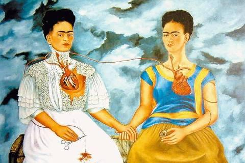 ORG XMIT: 101101_0.tif Obra da pintota mexicana Frida Kahlo que pode ser visita em site na Internet. (Reprodução)