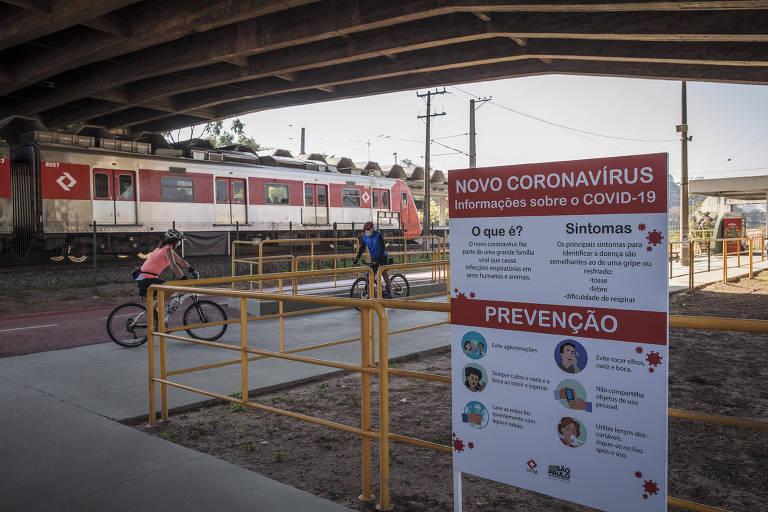 Ciclovia na marginal Pinheiros reabre após quase cinco meses