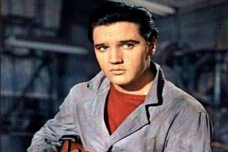 """Elvis Presley em """"Coração Rebelde"""""""
