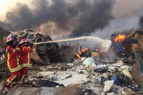 Grande explosão atinge Beirute, capital do Líbano; veja vídeo