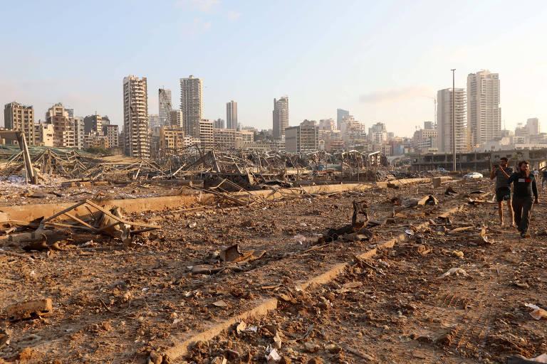 Explosão em Beirute ocorre no pior momento da história recente do país