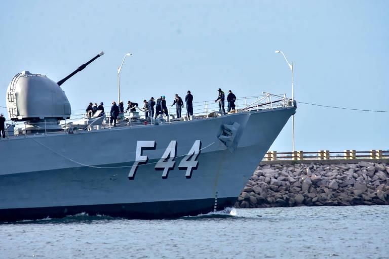 Fragata brasileira saiu do porto de Beirute horas antes da explosão