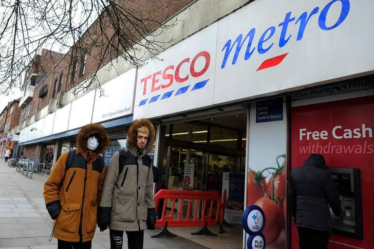 Supermercado britânico Tesco
