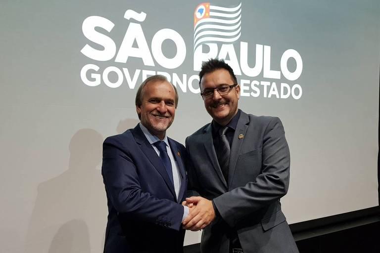 O prefeito de Sumaré, Luiz Dalben (à dir.), e seu pai, o deputado estadual Dirceu Dalben, ambos com coronavírus