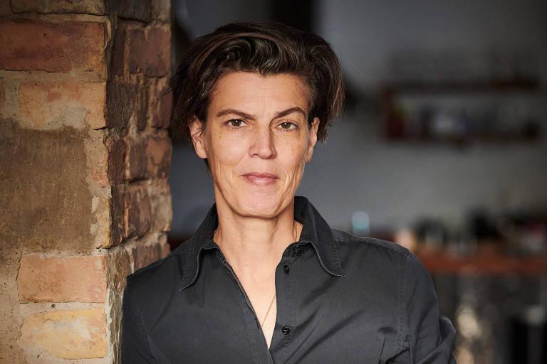 """A filósofa e jornalista alemã Carolin Emcke, autora de """"Contra o ódio"""" (Ed. Ayiné)"""
