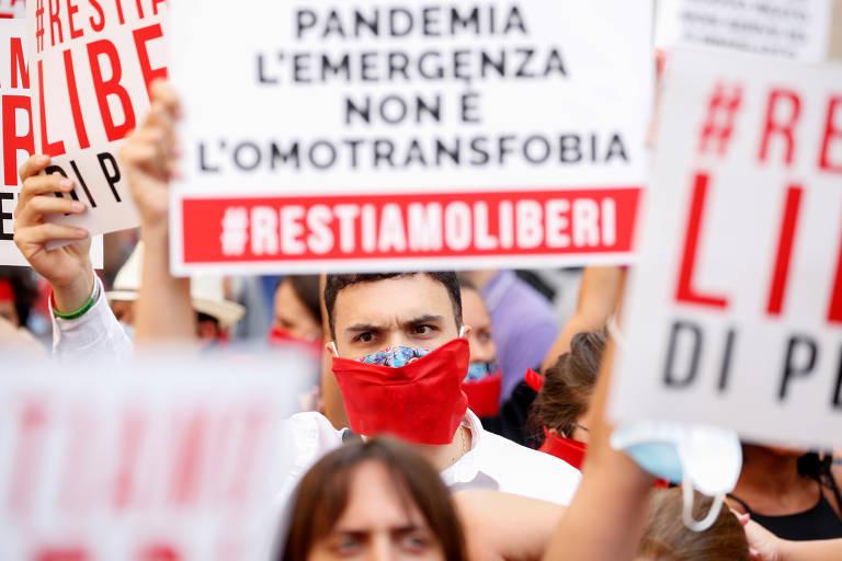 Protestos de intolerância e seus contra-protestos pelo mundo