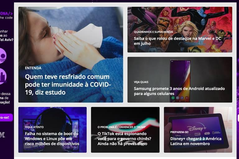 Empresa comprou site de notícias de tecnologia, que tem 24 milhões de visitantes únicos por mês