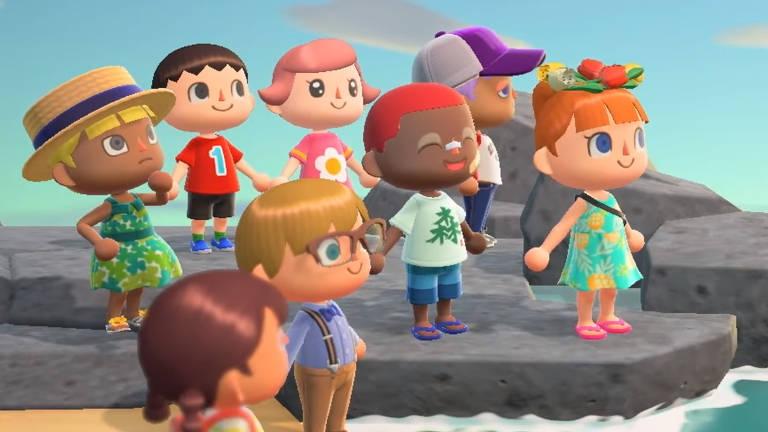 Imagens do jogo Animal Crossing: New Horizons