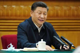 CHINA-BEIJING-XI JINPING-SIMPOSIO