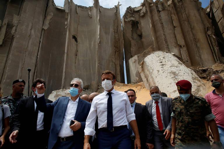 A estratégia de Macron e o Líbano pós-tragédia