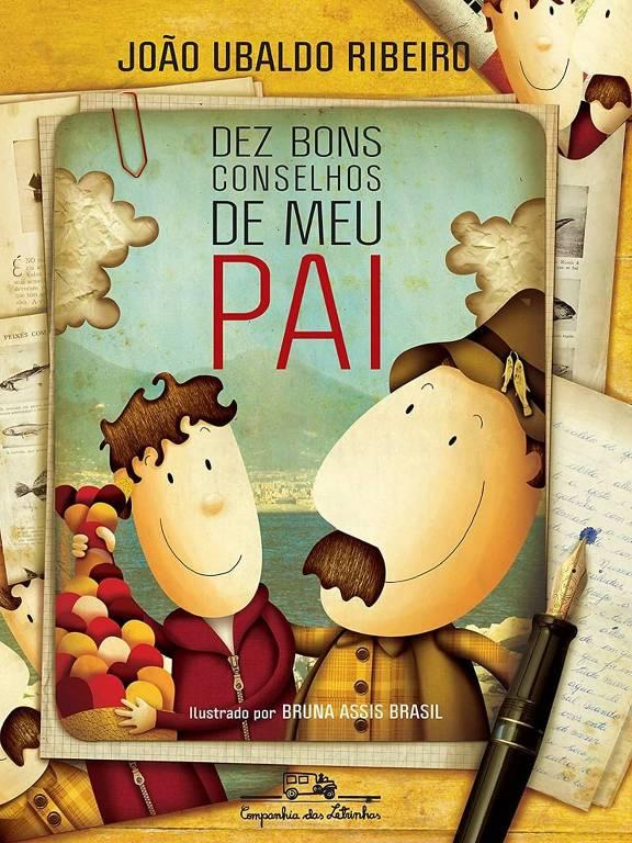 Capa do livro 'Dez Bons Conselhos de meu Pai', de João Ubaldo Ribeiro