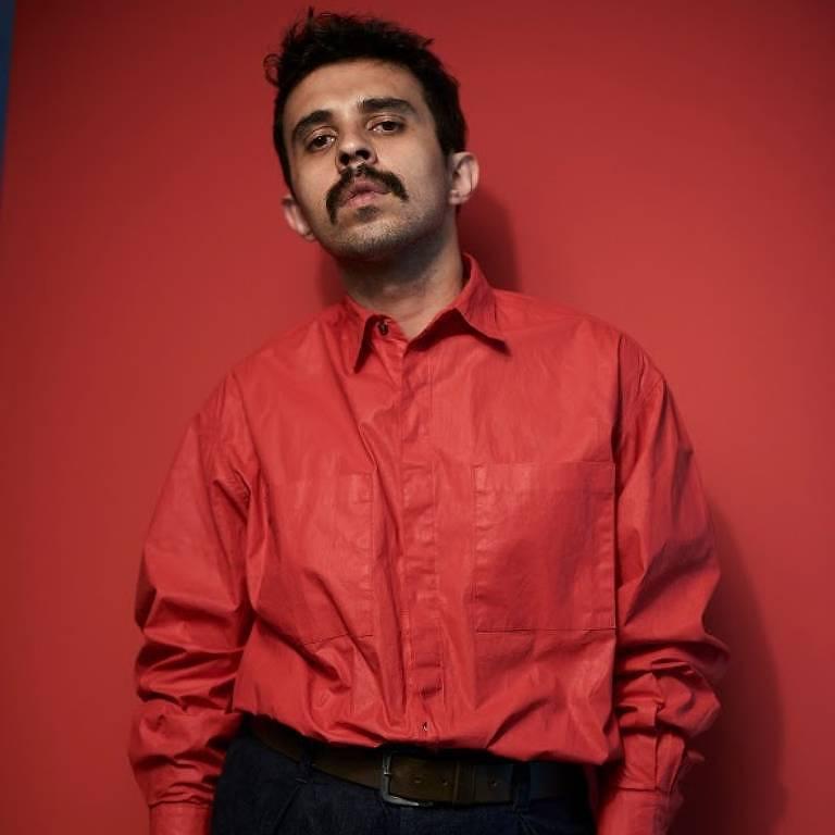 Célio Dias, estilista da marca Led, em Belo Horizonte (MG)
