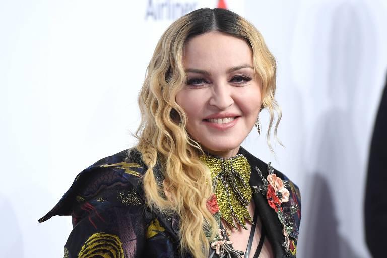 A cantora Madonna em foto de 2016