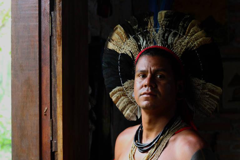 Kamony Nunes da Cruz, 36, pertence ao povo indígena Kariri-Xocó e ficou em São Paulo para mandar recursos para a família no Nordeste