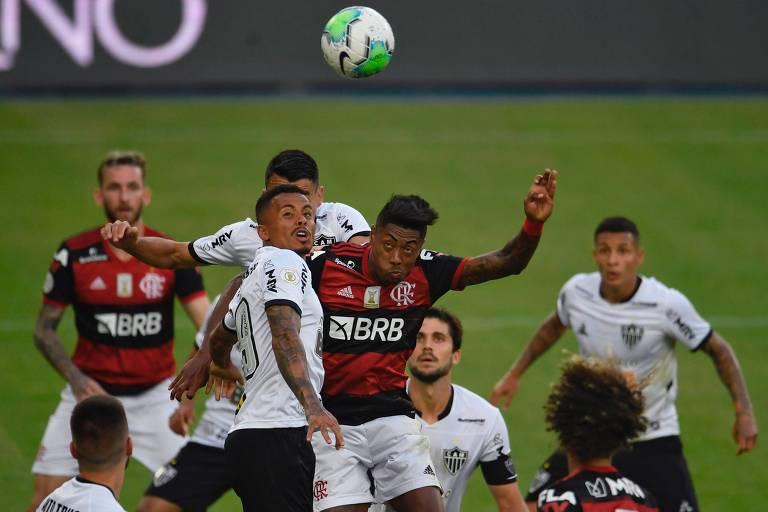Flamengo e Atlético-MG deram esperança de espetáculos no Brasileiro