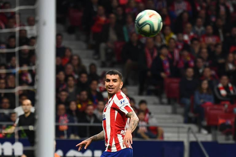 Ángel Correa está fora do jogo contra o RB Leipzig pelas quartas de final da Champions League
