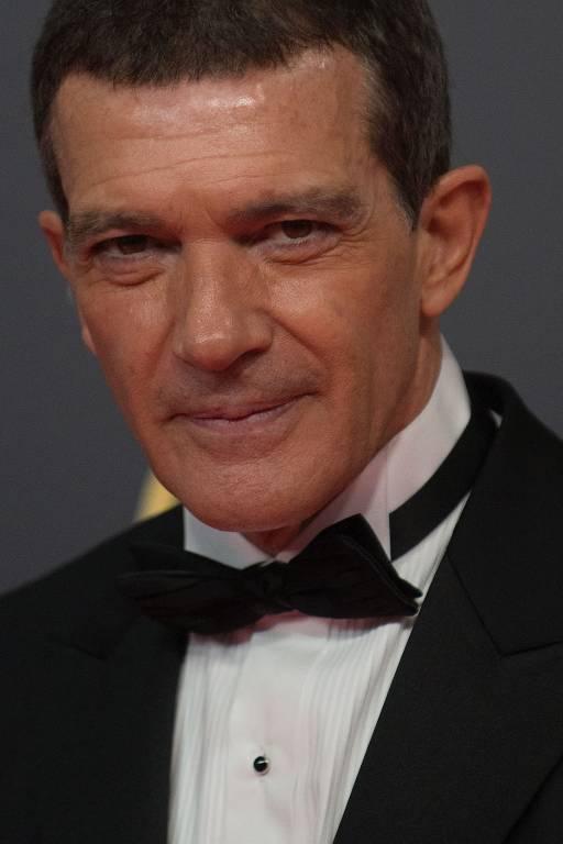 Imagens do ator Antonio Banderas
