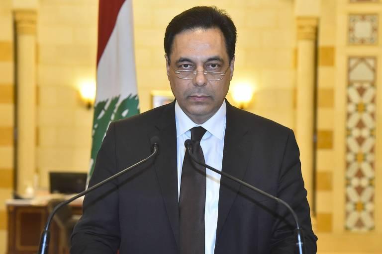 Seis dias após explosão em Beirute, premiê do Líbano anuncia renúncia do governo