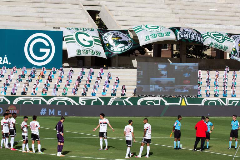 Jogo em Goiânia foi suspenso minutos antes de a bola rolar, no dia 9 de agosto