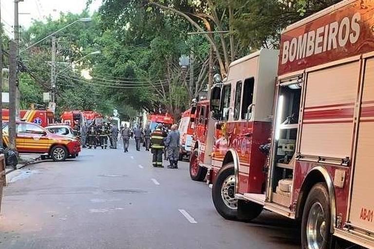 Bombeiros atendem ocorrência de intoxicação nos Jardins, em SP