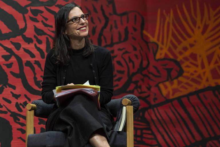 Lilia Schwarcz em debate da Flip em 2019