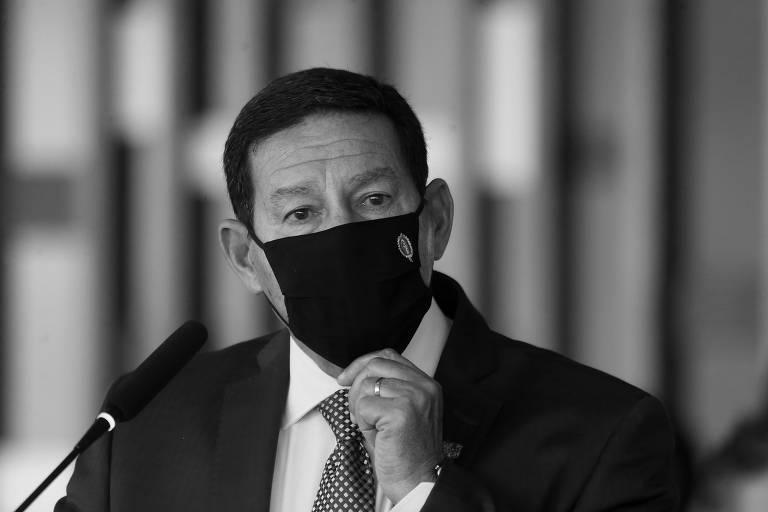 O vice-presidente Hamilton Mourão, que comanda o Conselho Nacional da Amazônia Legal