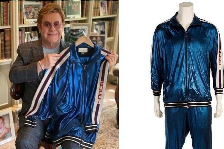 Elton John leilão
