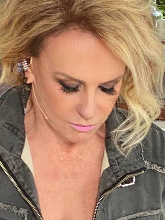 Imagens da apresentadora Ana Maria Braga