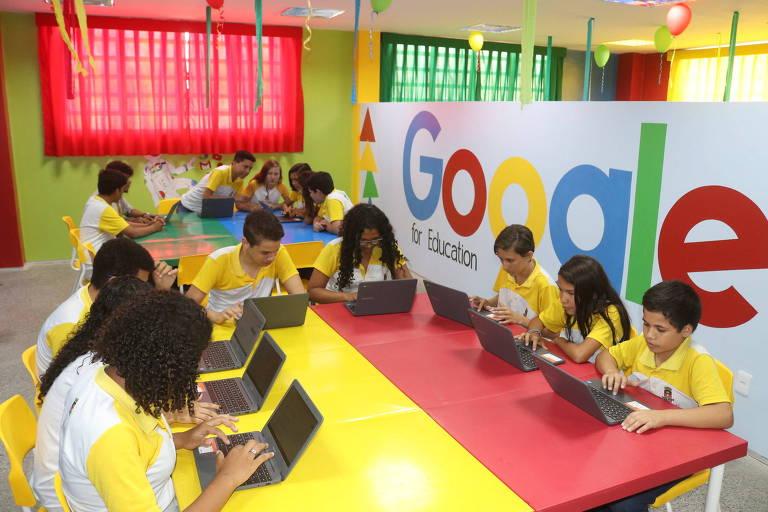 Inauguração do Laboratório Google for Education em Sobral (CE)