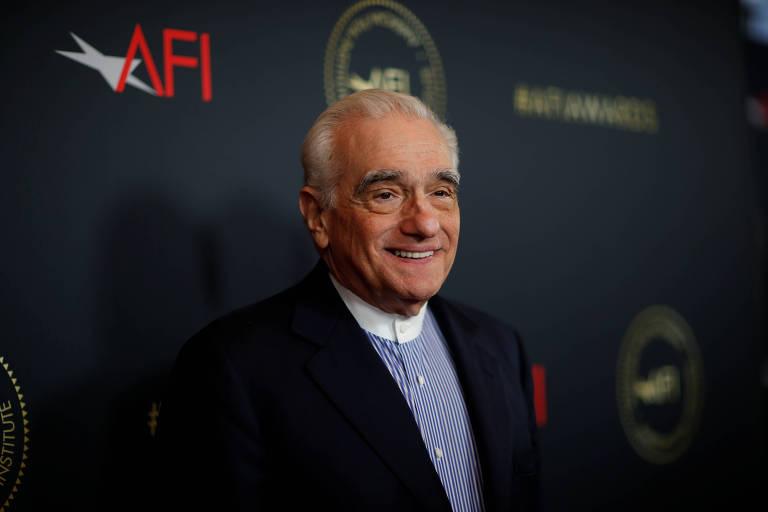 O diretor Martin Scorsese