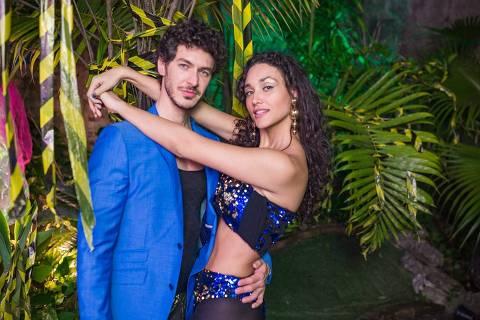 Debora Nascimento e Luiz Perez