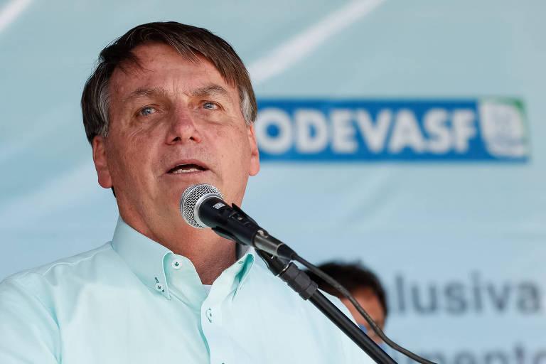 Presidente da República, Jair Bolsonaro, em Campo Alegre de Lourdes (BA)