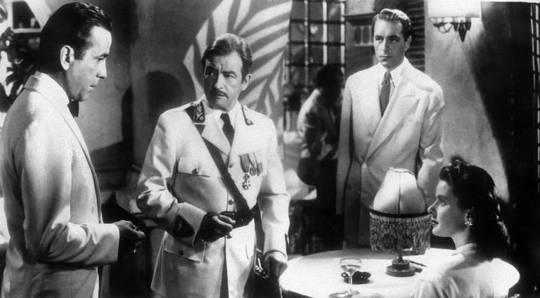 Confira cenas do clássico 'Casablanca'