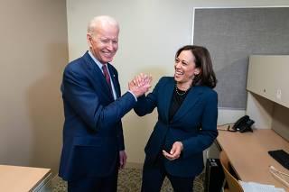 ELEIÇÕES EUA 2020 - Biden escolhe Kamala Harris para vice