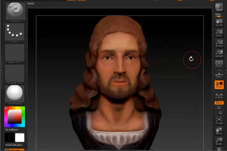 Cientistas fazem reconstrução em 3D do rosto do pintor símbolo do renascimento Rafael