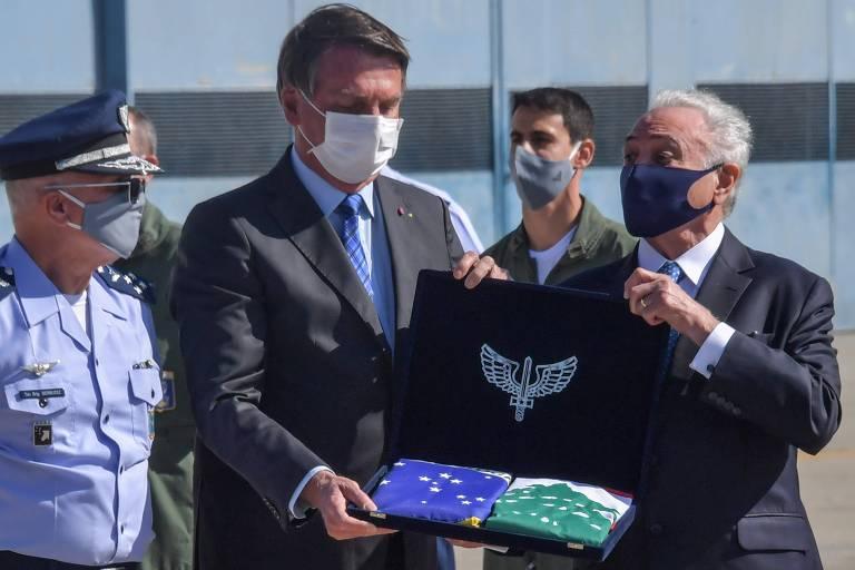 Temer faz relato diário a Bolsonaro sobre missão no Líbano