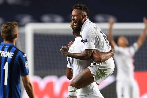 Neymar lidera virada, e PSG vai à semifinal da Champions League