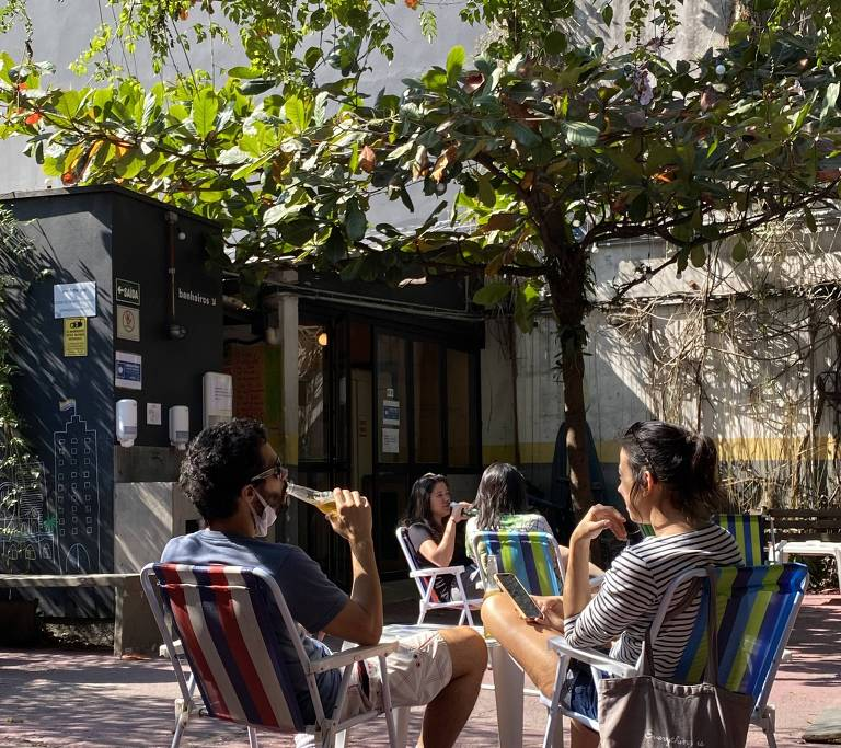 O bar Pitico, em Pinheiros