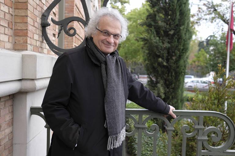 O escritor franco-libanês Amin Maalouf em Madri