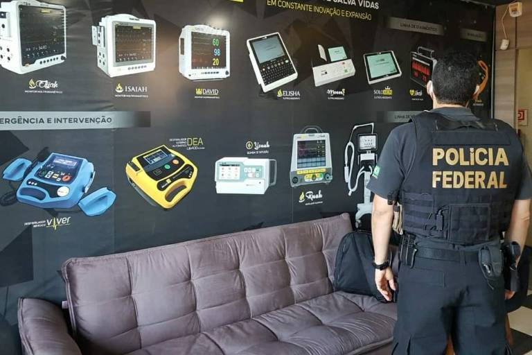 Polícia Federal cumpre 36 mandados de busca e apreensão no Distrito Federal e em oito estados contra fraudes em licitações de compras para enfrentamento da pandemia do novo coronavírus