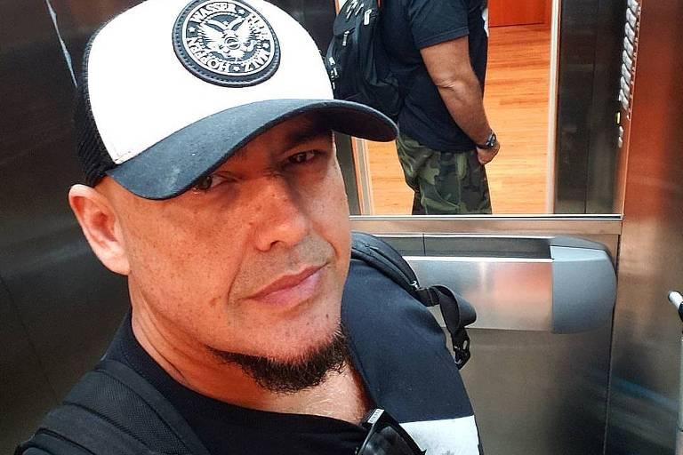 Digão, cantor e guitarrista da banda Raimundos