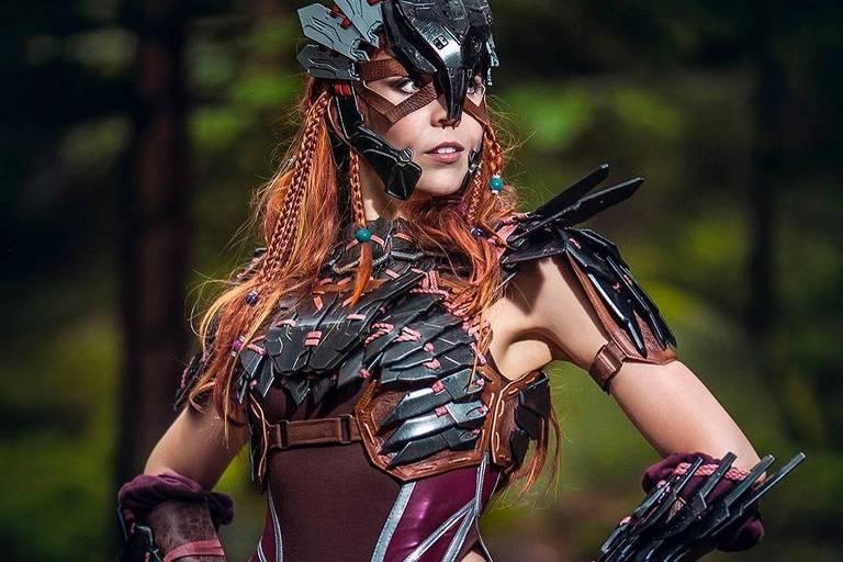 A cosplaycer Svetlana Quindt, do projeto Kamui Cosplay, participa de painel da Geek Nation